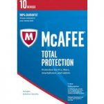 MCAFEE Total Protection 2016 – 10 users for 1 year