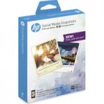 HP Social Media Snapshots Removable Sticky 100 x 130 mm Photo Paper – 25 sheets