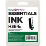 ESSENTIALS 364 Black HP Ink Cartridge, Black
