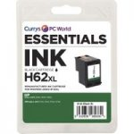 ESSENTIALS 62 XL Black HP Ink Cartridge, Black