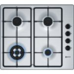 NEFF T26BR56N0 Gas Hob – Stainless Steel, Stainless Steel