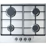BAUMATIC BHG620SS Gas Hob – Stainless Steel, Stainless Steel