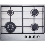 BAUMATIC BHG625SS Gas Hob – Stainless Steel, Stainless Steel
