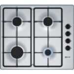 NEFF T26BR46N0 Gas Hob – Stainless Steel, Stainless Steel