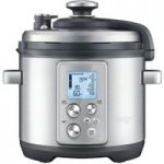 SAGE by Heston Blumenthal Fast Slow Pro Pressure/Slow Cooker – Stainless Steel, Stainless Steel