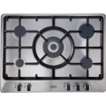 BELLING GHU70GC Gas Hob – Stainless Steel, Stainless Steel