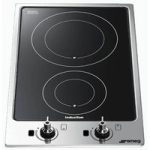SMEG PGF32I-1 Electric Induction Hob – Black, Black