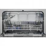 ZANUSSI ZDM17301SA Compact Dishwasher – Silver, Silver