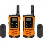 MOTOROLA TLKER 41 Walkie Talkie – Orange & Black, Orange