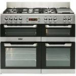 LEISURE Cuisinemaster CS110F722X Dual Fuel Range Cooker – Stainless Steel, Stainless Steel