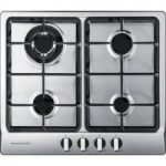 RANGEMASTER RMB60HPNGFSS Gas Hob – Stainless Steel, Stainless Steel