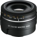 SONY DT 30 mm f/2.8 SAM Macro Lens