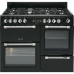 LEISURE Cookmaster CK100F232K Dual Fuel Range Cooker – Black, Black