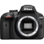 NIK D3400 DSLR Camera – Black, Body Only, Black