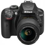 NIKON D3400 DSLR Camera with 18-55 mm f/3.5-5.6 Zoom Lens – Black, Black