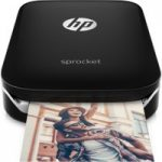 HP Sprocket Mobile Photo Printer – Black, Black