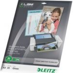 LEITZ iLAM 80 Micron A3 Laminating Pouches – 25 Pack