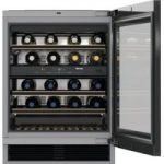 MIELE KWT6322 UG Smart Wine Cooler – Black, Black