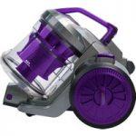 RUSSELL HOBBS RHCV2103 Cylinder Bagless Vacuum Cleaner – Gunmetal Grey & Purple, Grey