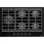 GORENJE GW761UX Gas Hob – Stainless Steel, Black
