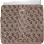GUESS Uptown 13″ Laptop Sleeve – Brown, Brown
