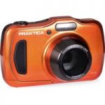 PRAKTICA Luxmedia WP240-BL Compact Camera – Orange, Orange