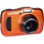 PRAKTICA Luxmedia WP240-BL Compact Camera – Orange, Orange