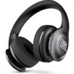 JBL E55BT Wireless Bluetooth Headphones – Black, Black