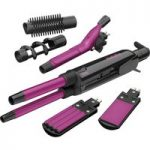 BABYLISS 2800CU Pro Ceramic 12 in 1 Styler – Pink, Pink