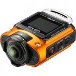 RICOH WG-M2 Action Camcorder – Orange, Orange