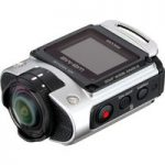 RICOH WG-M2 Action Camcorder – Silver, Silver