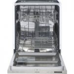 STOVES ST SDW60 Full-size Integrated Dishwasher – Stainless Steel, Stainless Steel
