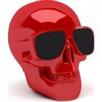JARRE Aero Skull Nano ML80115 Wireless Portable Speaker – Red, Red