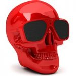 JARRE AeroSkull XS Portable Wireless Speaker – Glossy Red, Red