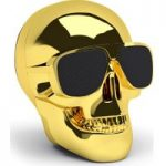 JARRE Aero Skull Nano ML80112 Wireless Portable Speaker – Gold, Gold