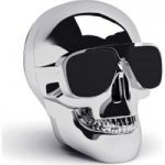 JARRE Aero Skull Nano Wireless Portable Speaker – Silver, Silver