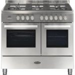 BRITANNIA Sonetto 100DF TC Dual Fuel Range Cooker – Stainless Steel, Stainless Steel