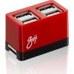 GOJI G4HUBRD17 4-port USB 2.0 Hub