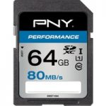 PNY High Performance Class 10 SDHC Memory Card – 64 GB