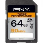 PNY Turbo Performance Class 10 SDXC Memory Card – 64 GB
