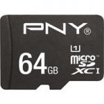 PNY High Performance Class 10 microSDHC Memory Card – 64 GB