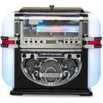RICATECH RR700 Tabletop Jukebox – Black, Black