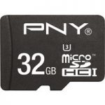 PNY Turbo Performance Class 10 microSDHC Memory Card – 32 GB
