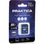 PRAKTICA SDHC Class 10 Memory Card – 32 GB