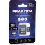PRAKTICA Class 10 microSD Memory Card – 32 GB