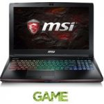 MSI Apache Pro GE62VR 15.6″ Gaming Laptop – Black, Black