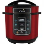 PRESSURE KING Pro Digital Pressure Multicooker – Red, Red