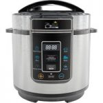PRESSURE KING Pro Digital Multicooker – Chrome