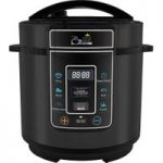 PRESSURE KING Pro Digital Pressure Multicooker – Black, Black