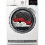 AEG ProSense T6DBG822N Condenser Tumble Dryer – White, White